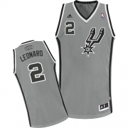 Adidas Kawhi Leonard San Antonio Spurs Alternate Swingman NBA Jersey - Grey