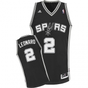 Adidas Kawhi Leonard San Antonio Spurs Road Swingman NBA Jersey - Black