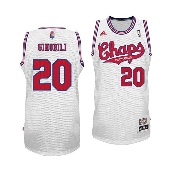 dc4b1496a26 ... where to buy manu ginobili swingman jersey home aba hardwood classic nba  jersey white adidas spurs