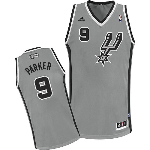f595898d5bd Adidas Tony Parker San Antonio Spurs Youth Swingman NBA Jersey - Grey